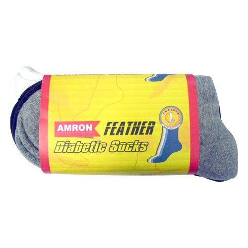 Amron  Feather Diabetic Socks