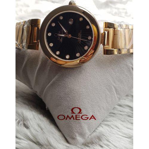 Replica Omega Golden Chain Ladies Luxury Watch Replica