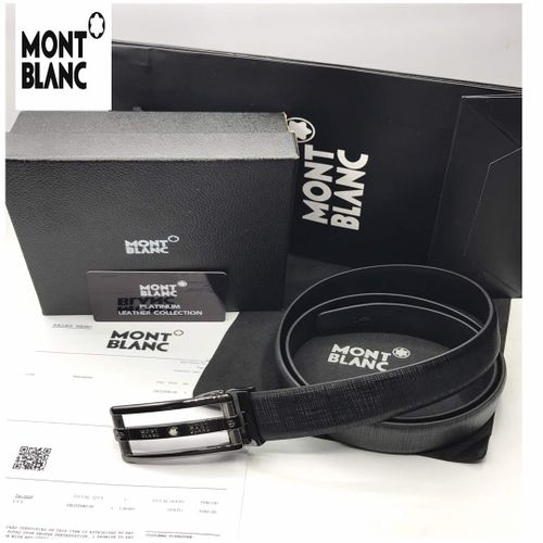 Replica Mont Blanc Office Leather Belt High Quality