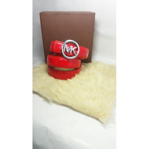 Michael Kors Ladies Red Belt