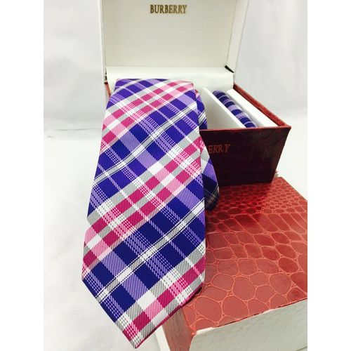 Burberry Tie & Pocket Square