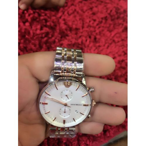 Emporio Armani Dual Tone Steel Watch
