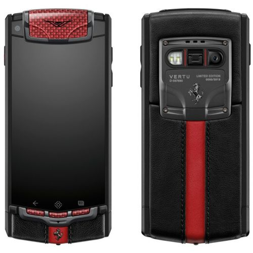 replica vertu ti ferrari limited edition mobile phone