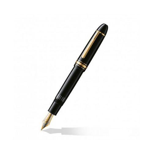 Montblanc Meisterstuck 149 Black Gold Nib Fountain Pen