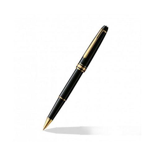 Montblanc Meisterstuck Classique Black Gold Roller Ball Pen