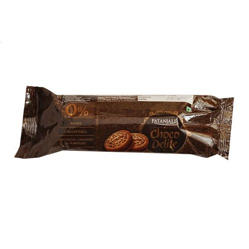 PATANJALI CHOCO DELITE BISCUITS 75gm