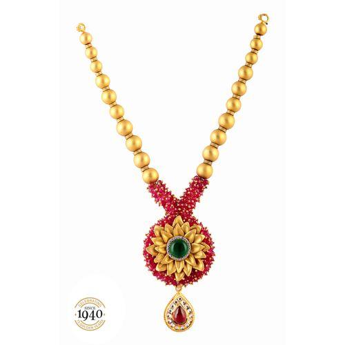 Designer semi antique necklace mozeypictures Image collections