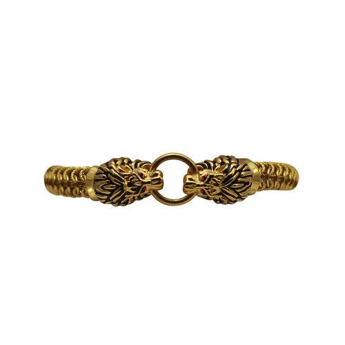 Lion face' bracelet