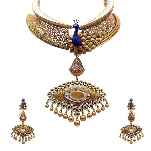 Royal Peacock Chocker