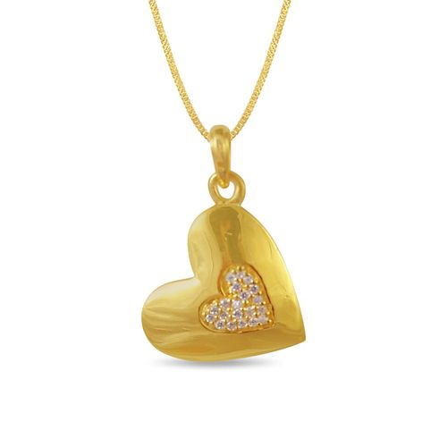 22k Yellow Gold  Casting Pendent