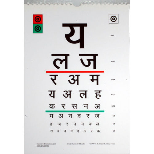 Eye chart font in hindi what is 6 6 vision quora ayucar eye chart hindi and english brfeatures brused for eye exam ind122 ccuart Gallery
