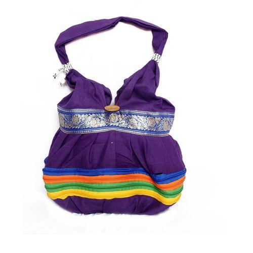 Ethnic Rasa Blue Ethnic Handbag - HWIT1401