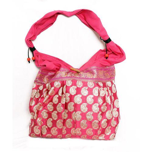Pink Ethnic Handbag - HWIT1408