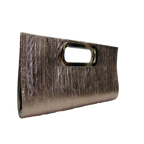 Adhira Arts Silver Party Clutch - HWIT1619