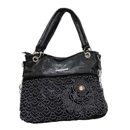 All Imported Black Designer Handbag - HWIT1848