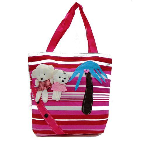 Craft-on-Bags Pink Designer Handbag - HWIT2070