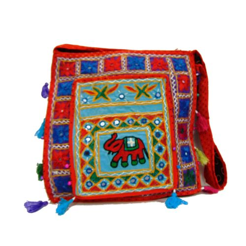 Ethnic Rasa Red  Ethnic Bag - HWIT2288