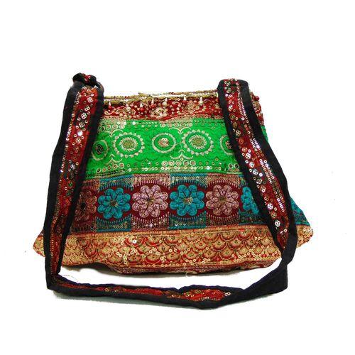 Ethnic Rasa Green  Ethnic Bag - HWIT2297