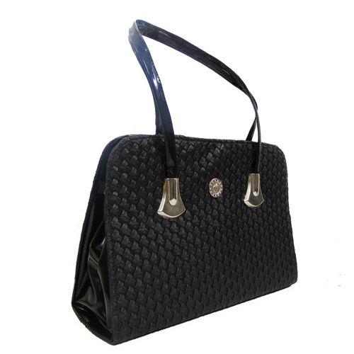 Estoss Black  Handbag - MEST2800