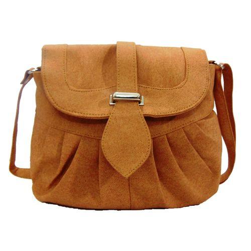Estoss Brown  Sling Bag - MEST2831