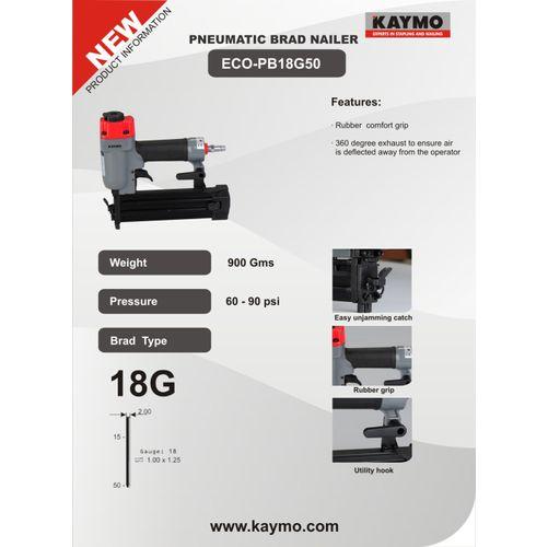 PNEUMATIC BRAD NAILER KAYMO ECO-18G50