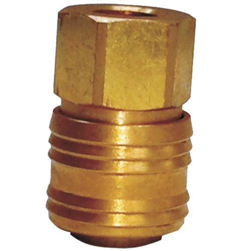 "1/4"" FEMALE SOCKET (GERMAN TYPE BRASS) S3320SF"