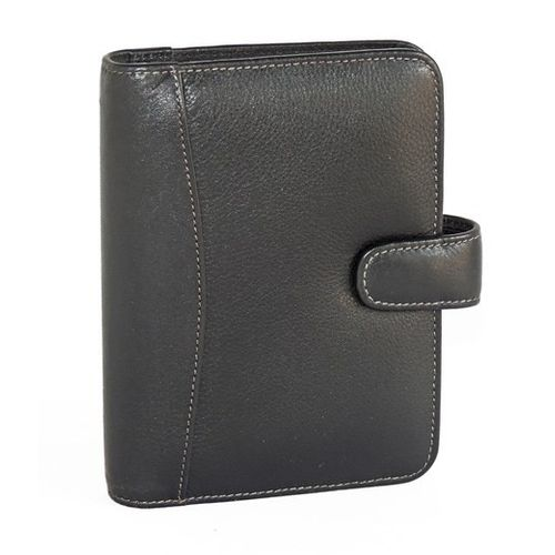 Elan Leather Elp-792 Black Personal Dated Organizer