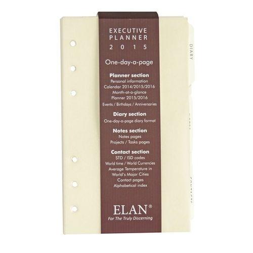 Elan Erp-897 Executive Size Organizer Refill