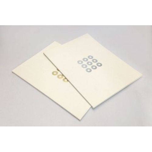 Rubberband Design Edition B5 Pack Of 2 Natural Ruled Notebook Soft White Linen Cover With 48 Pages