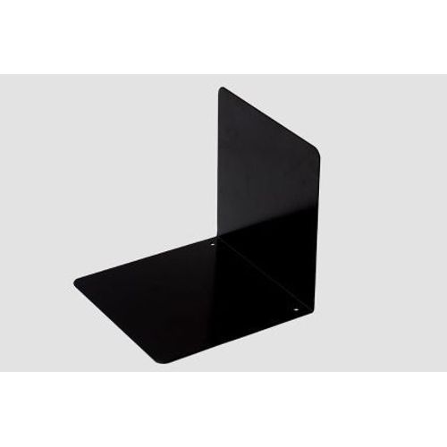Rubberband Book End Mild Steel Black Colour Powdered Coated Finish