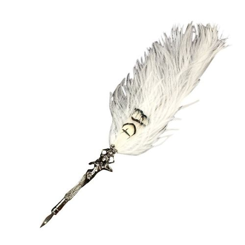 Rubinato Quill Pen 1541 White Feather