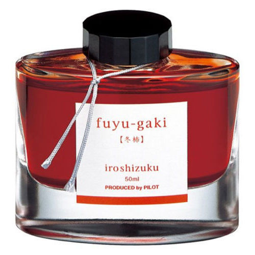 Pilot Ink Bottle Iroshizuku 50-Fg Fuyugaki Sweet Permission  50 Ml Vermillion Red