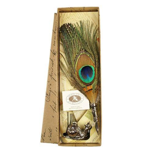 Rubinato Quill Pen 1520 Peacock Feather