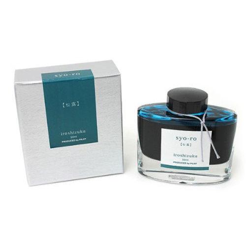 Pilot Ink Bottle 50-Sy Pine Tree Dew 50 Ml  Grey Turquoise