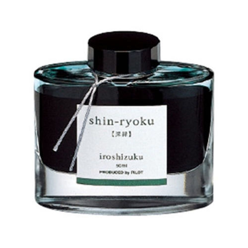 Pilot Ink Bottle 50-Shr Shin-Ryoku 50 Ml Deep Green