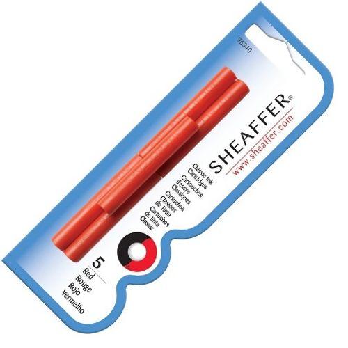 Sheaffer Ink Cartridge Skrip Red