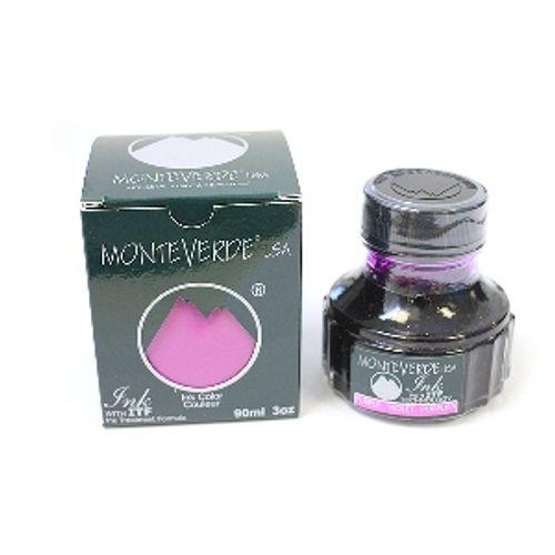 Monteverde G 308 Pl 90 Ml Ink Bottle Purple