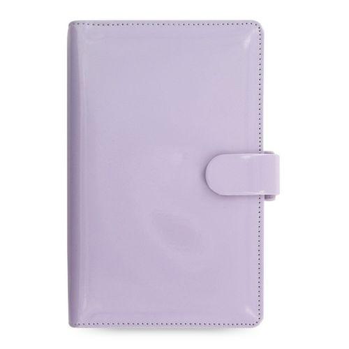 Filofax Patent 22486 Lavender Compact Organiser