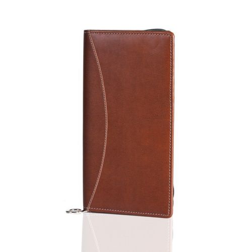 Plan-A-Day Brown Travel Wallet