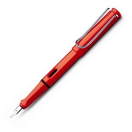 Lamy Fountain Pen 16 Safari Steel Medium Nib