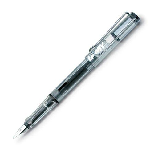Lamy Fountain Pen 12 Vista Steel Broad Nib