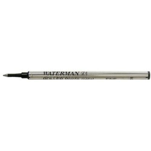 Waterman Roller Pen Refill Black Fine