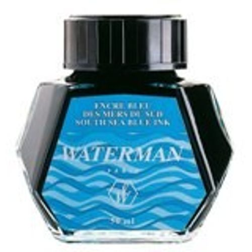 Waterman Ink Bottle 50 Ml Sea Blue