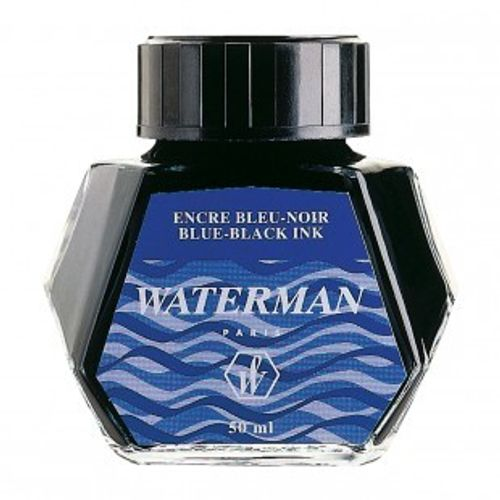 Waterman Ink Bottle 50 Ml Blue Black