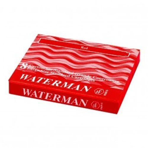 Waterman Ink Cartridge Red