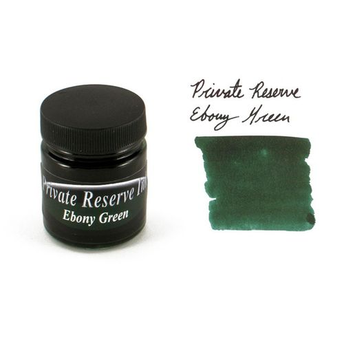 Private Reserve Inks Ink Bottle 40-Eg 60 Ml Ebony Green