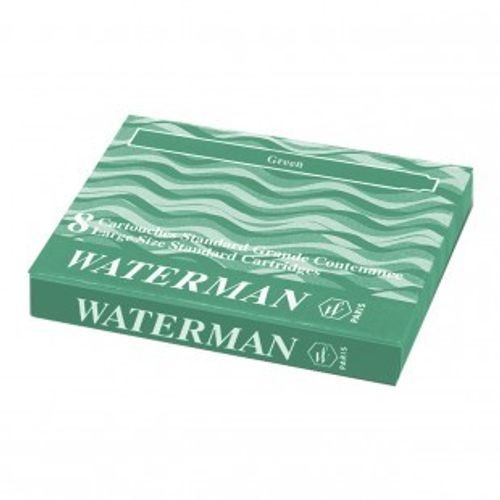 Waterman Ink Cartridge Green