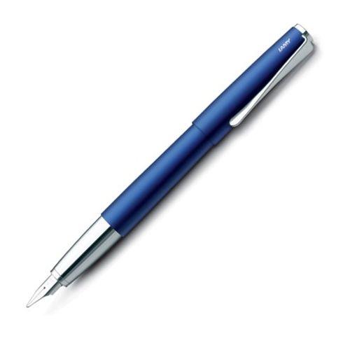 Lamy Fountain Pen 67 Studio Blue Steel Medium Nib