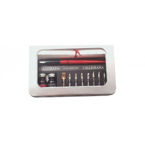 Rubinato Calligraphy Pen 24765 26 Stainless Nibs Set