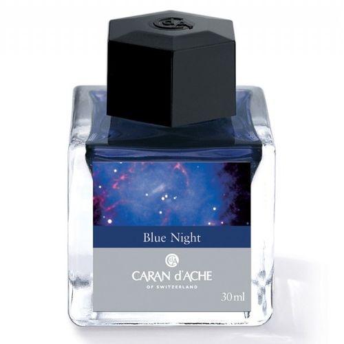 Caran D' Ache Ink Bottle 30 Ml Blue Night
